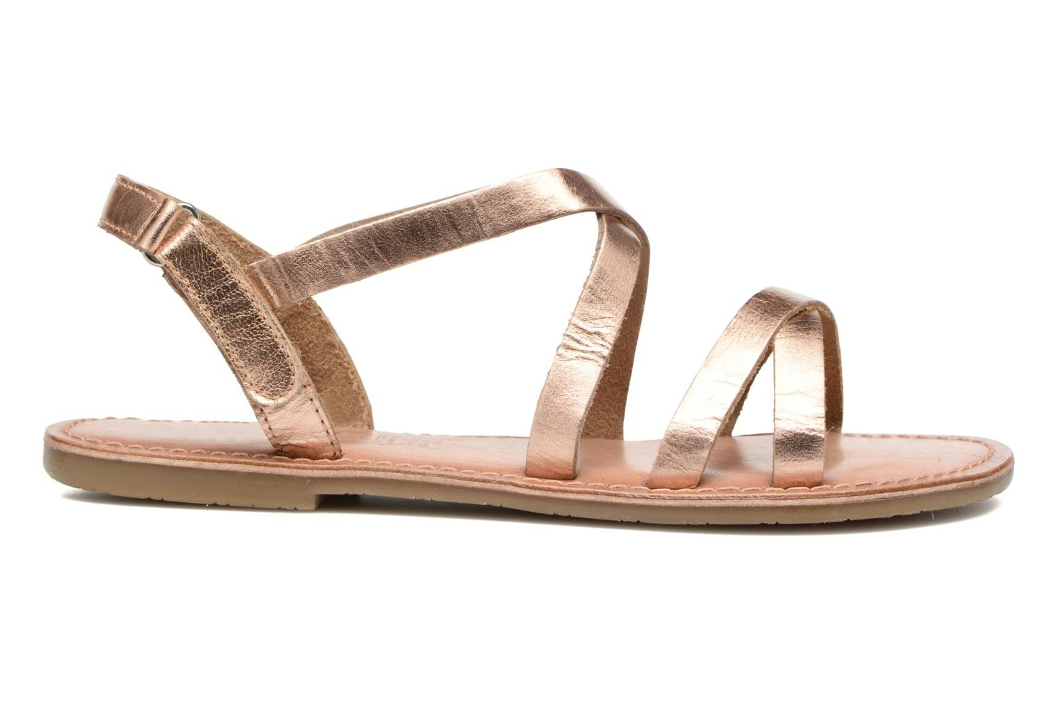 Sandalias I Love Shoes KEINU Leather Oro y bronce vistra trasera