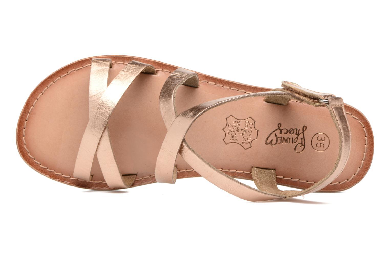 Sandalen I Love Shoes KEINU Leather gold/bronze ansicht von links