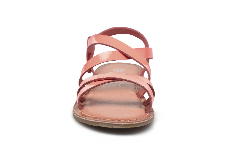 Sandales et nu-pieds I Love Shoes KEINU Leather Rose vue portées chaussures