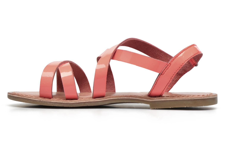 Sandales et nu-pieds I Love Shoes KEINU Leather Rose vue face