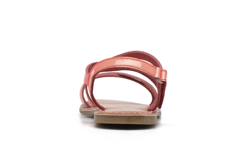 Sandalen I Love Shoes KEINU Leather rosa ansicht von rechts