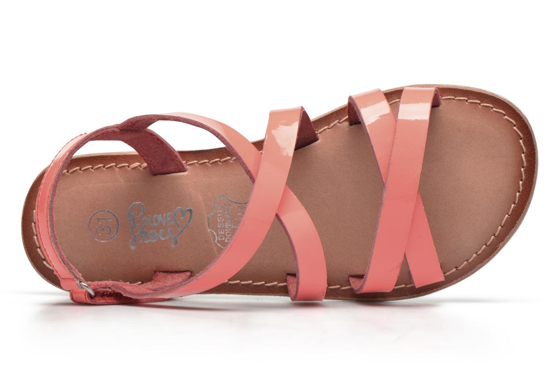 Sandali e scarpe aperte I Love Shoes KEINU Leather Rosa immagine sinistra