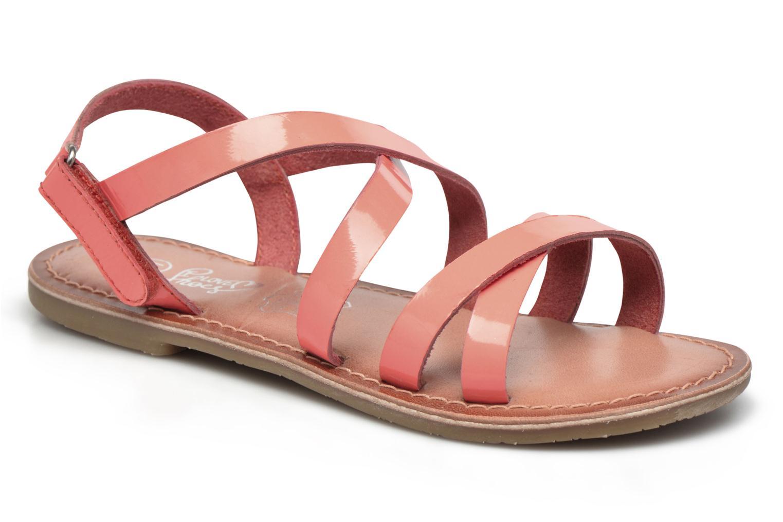 Sandalias I Love Shoes KEINU Leather Rosa vista de detalle / par