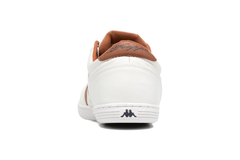 Baskets Kappa Ottawif Man Blanc vue droite