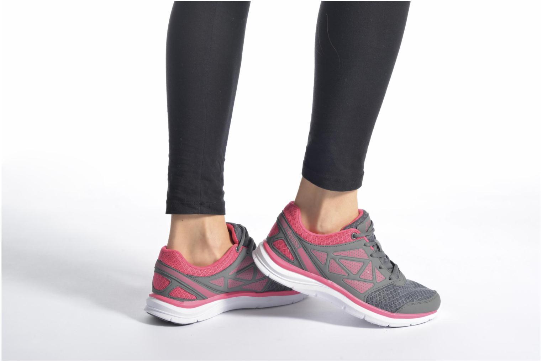 Sportschuhe Kappa Fanger PU Mesh W rosa ansicht von unten / tasche getragen