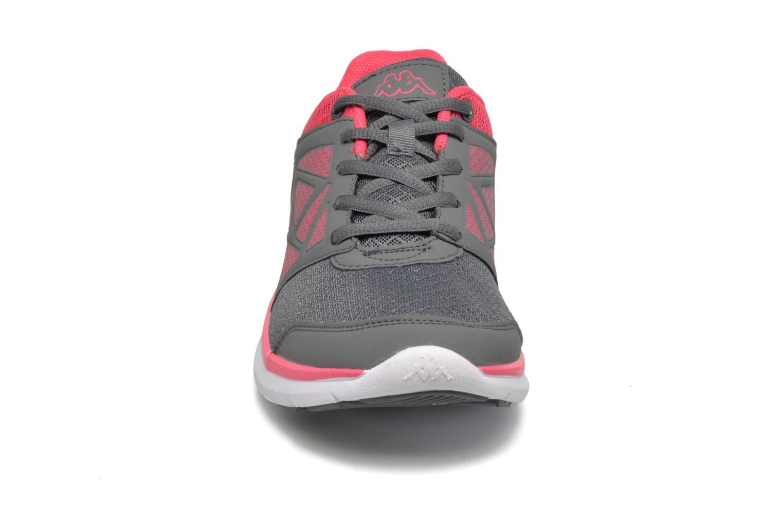 Zapatillas de deporte Kappa Fanger PU Mesh W Rosa vista del modelo