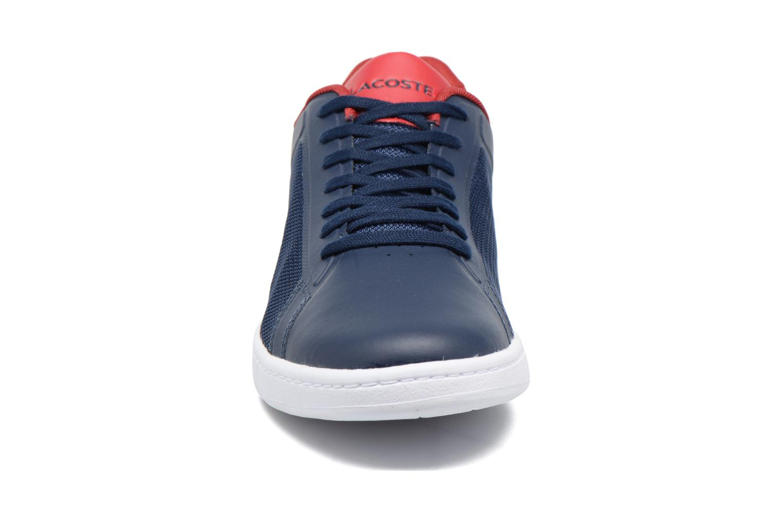 Baskets Lacoste Endliner 117 1 Bleu vue portées chaussures