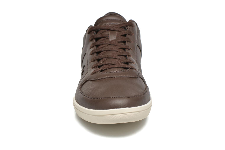 Baskets Lacoste Court-Minimal 117 1 Marron vue portées chaussures