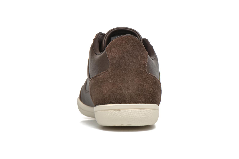 Baskets Lacoste Court-Minimal 117 1 Marron vue droite