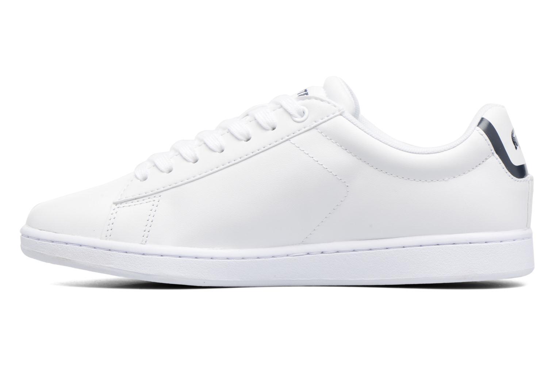 Sneaker Lacoste Carnaby Evo BL 1 W weiß ansicht von vorne