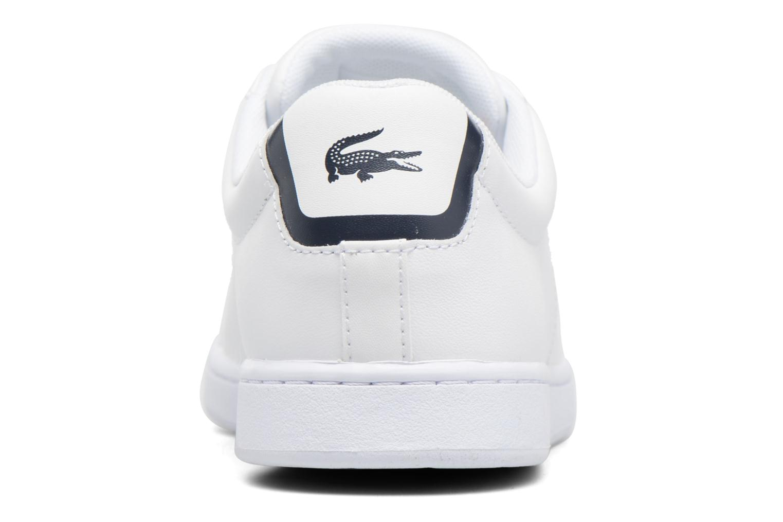 Sneaker Lacoste Carnaby Evo BL 1 W weiß ansicht von rechts