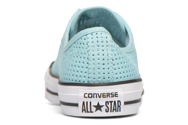 Baskets Converse Chuck Taylor All Star Perforated Canvas W Bleu vue droite