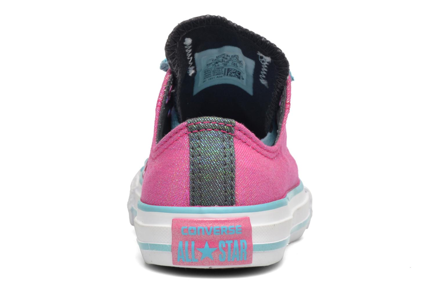 Sneakers Converse Chuck Taylor All Star Double Tongue Ox Kid Lilla Se fra højre