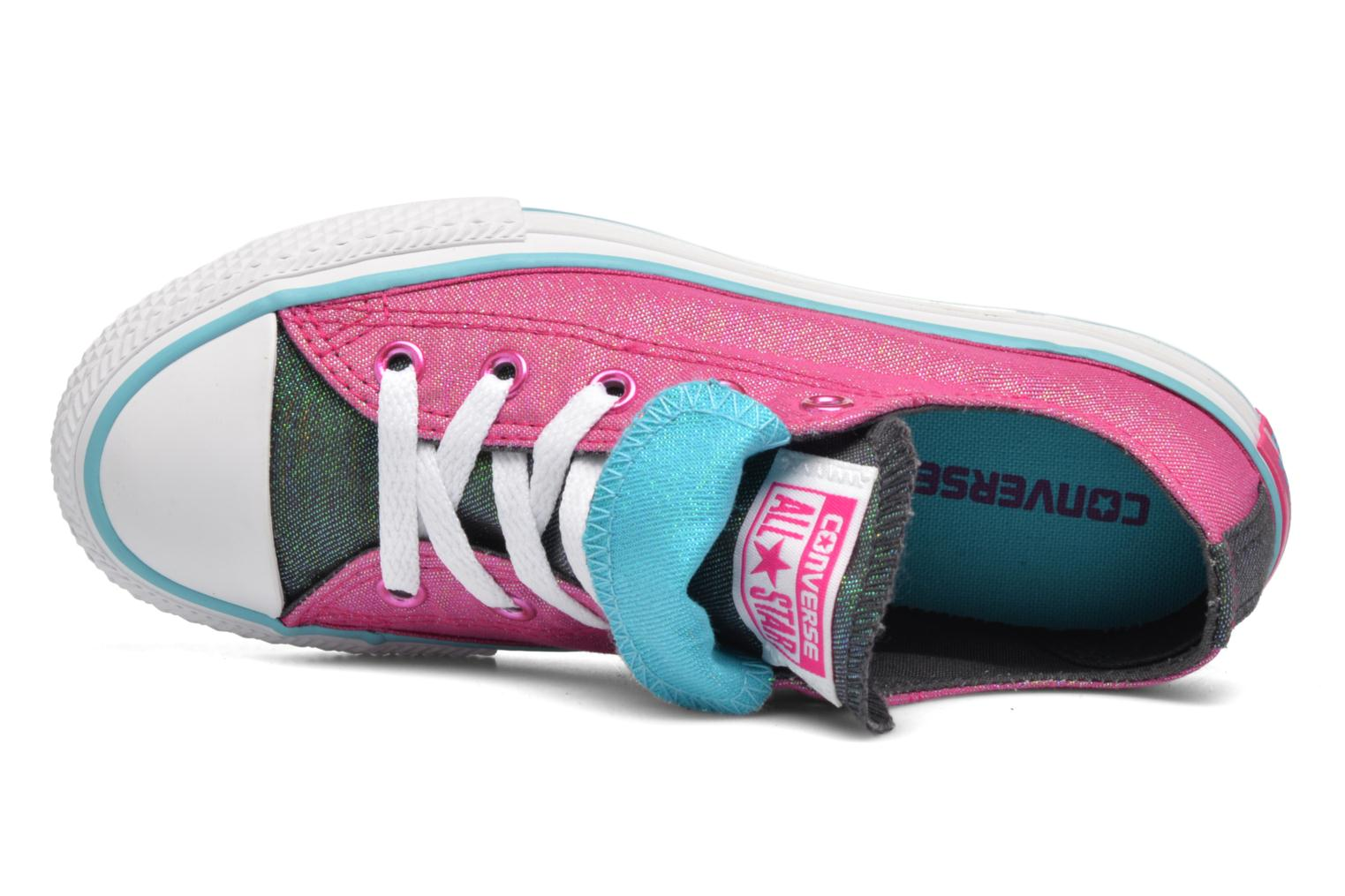 Sneakers Converse Chuck Taylor All Star Double Tongue Ox Kid Lilla se fra venstre