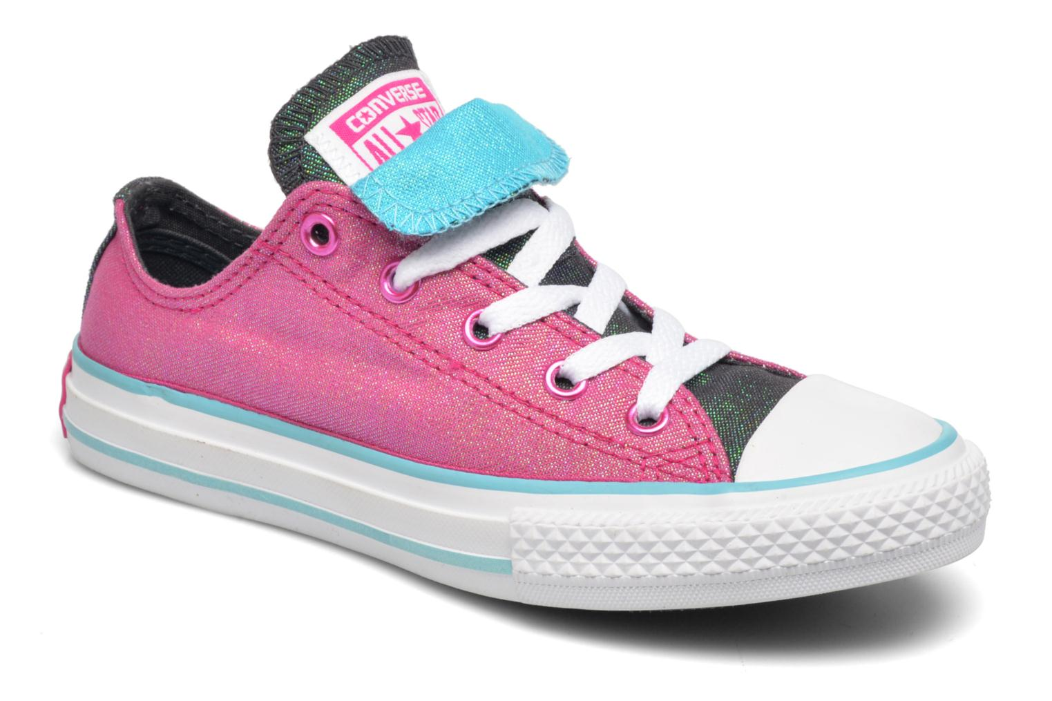 Sneakers Converse Chuck Taylor All Star Double Tongue Ox Kid Viola vedi dettaglio/paio