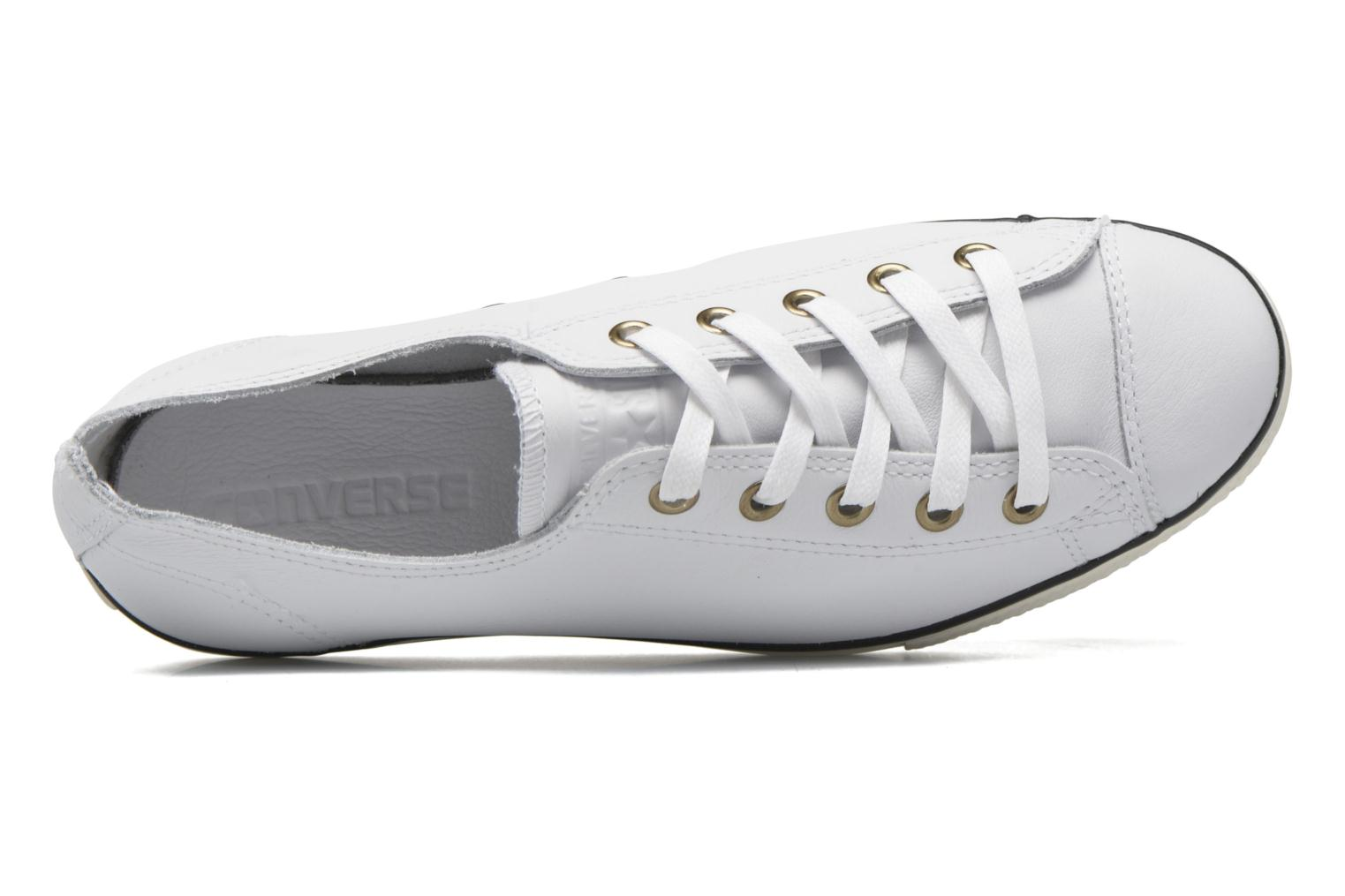 White/Egret/White Converse Chuck Taylor All Star High Line Ox (Blanc)