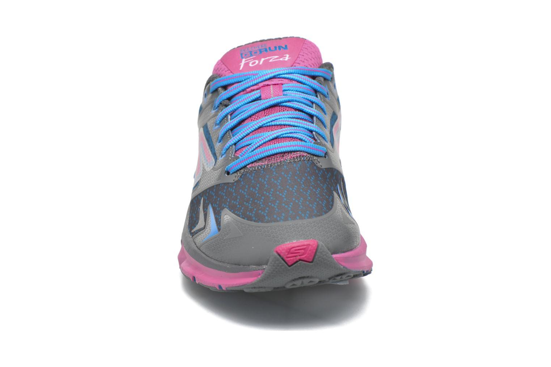 Chaussures de sport Skechers Go Run Forza Bleu vue portées chaussures