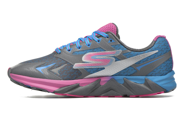 Chaussures de sport Skechers Go Run Forza Bleu vue face