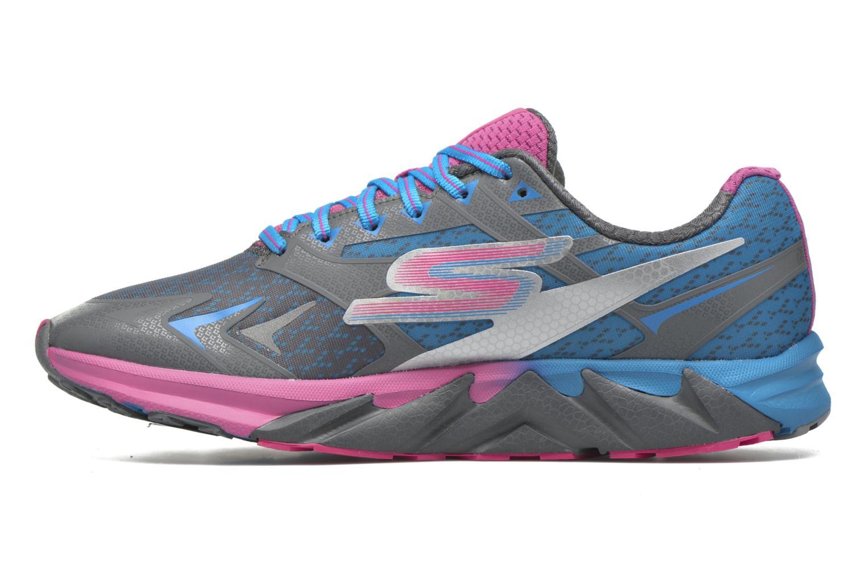 Sportschuhe Skechers Go Run Forza blau ansicht von vorne