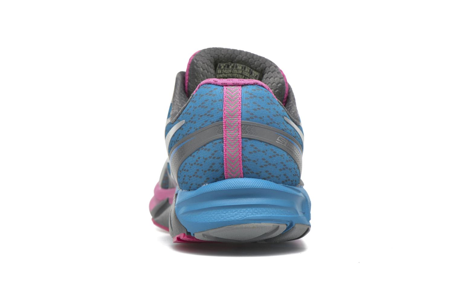 Sport shoes Skechers Go Run Forza Blue view from the right
