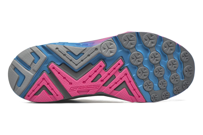 Chaussures de sport Skechers Go Run Forza Bleu vue haut