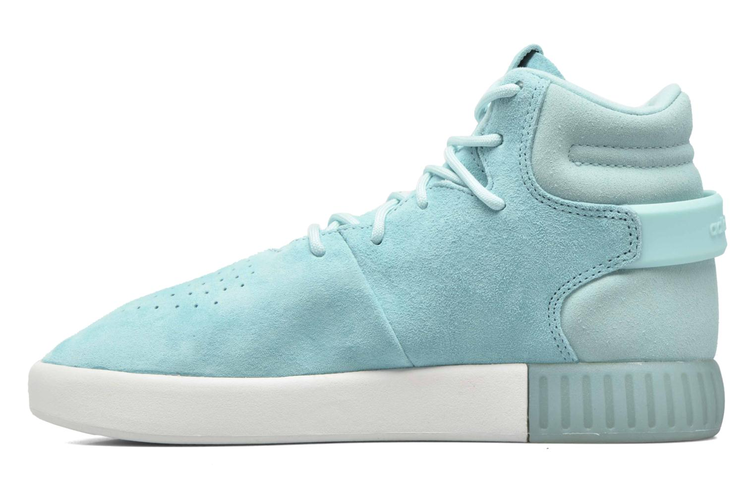 Baskets Adidas Originals Tubular Invader W Bleu vue face