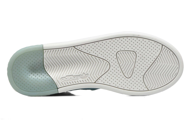 Baskets Adidas Originals Tubular Invader W Bleu vue haut