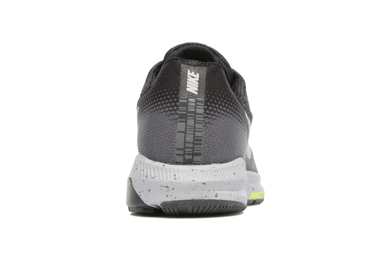 Chaussures de sport Nike Air Zoom Structure 20 Shield Noir vue droite