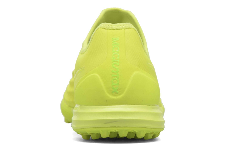 Chaussures de sport Nike Magistax Finale II Tf Jaune vue droite