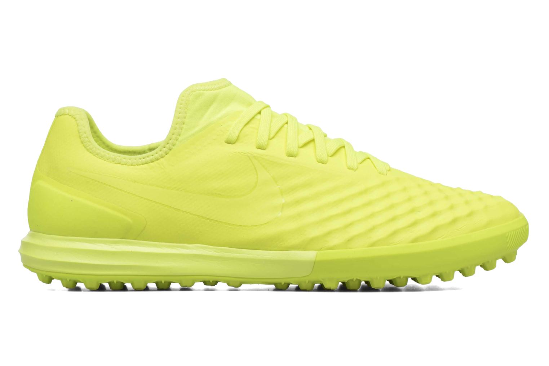 Chaussures de sport Nike Magistax Finale II Tf Jaune vue derrière