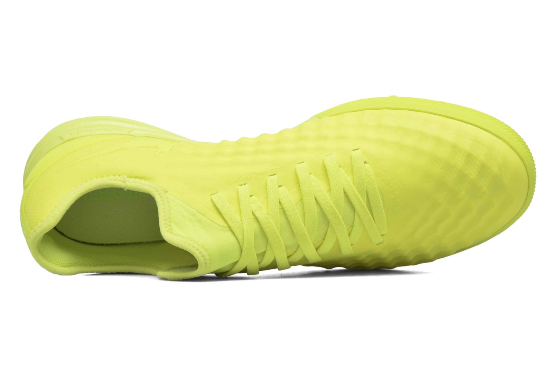 Chaussures de sport Nike Magistax Finale II Tf Jaune vue gauche