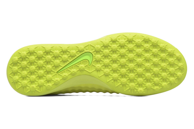 Chaussures de sport Nike Magistax Finale II Tf Jaune vue haut