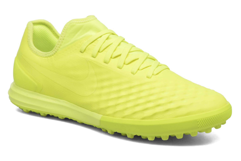Chaussures de sport Nike Magistax Finale II Tf Jaune vue détail/paire