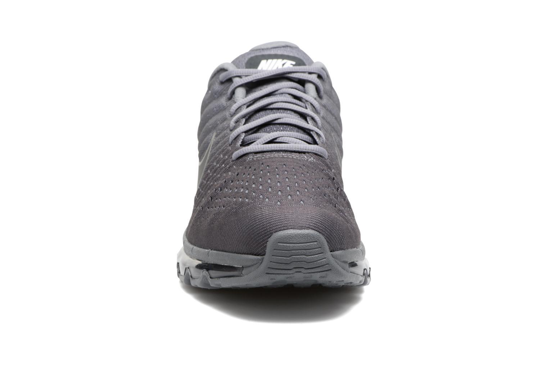 Chaussures de sport Nike Nike Air Max 2017 Gris vue portées chaussures
