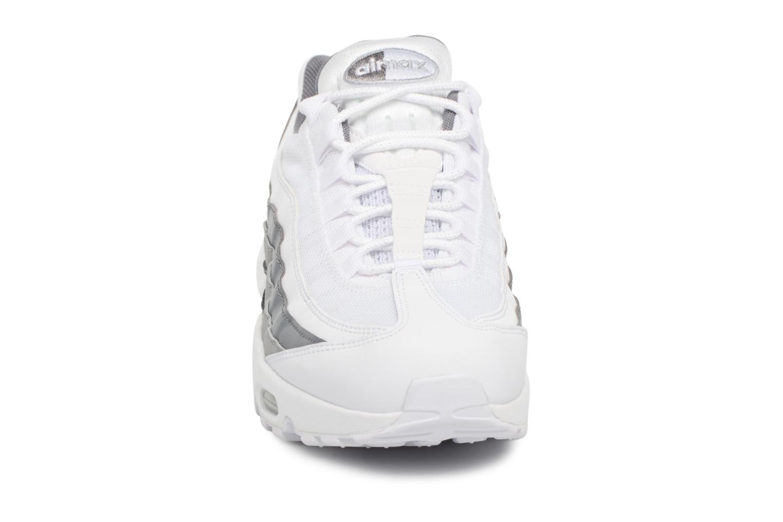 White/White-Cool Grey-Wolf Grey Nike Nike Air Max 95 Essential (Blanc)