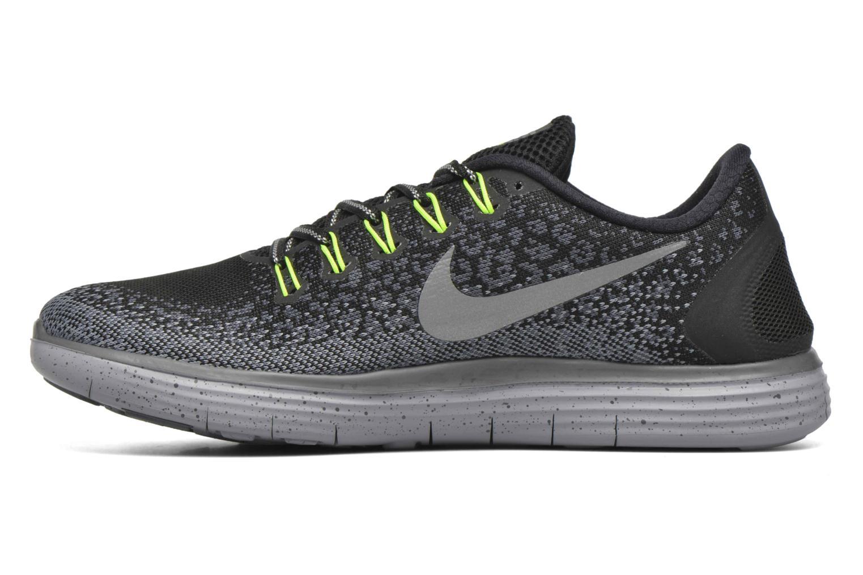 Chaussures de sport Nike Nike Free Rn Distance Shield Noir vue face