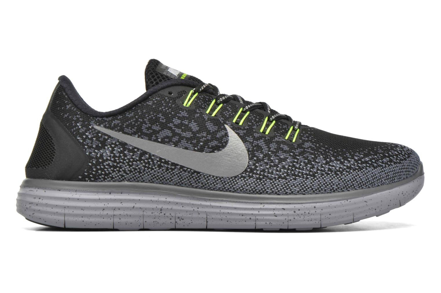Nike Free Rn Distance Shield Black/Metallic Silver-Dark Grey-Stealth