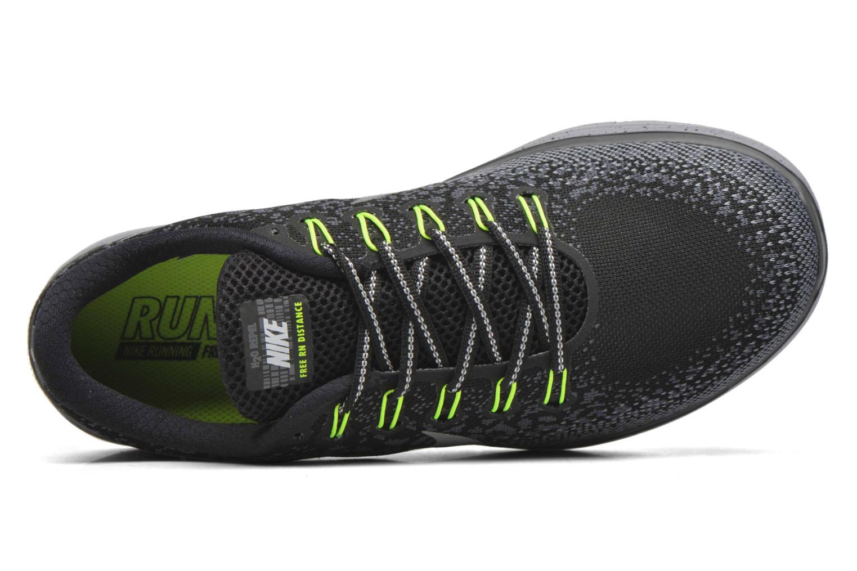 Nike Free Rn Distance Shield Black/Metallic Silver-Dark Grey-Stealth