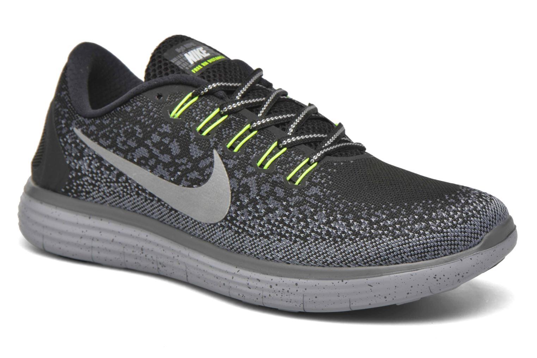 Chaussures de sport Nike Nike Free Rn Distance Shield Noir vue détail/paire