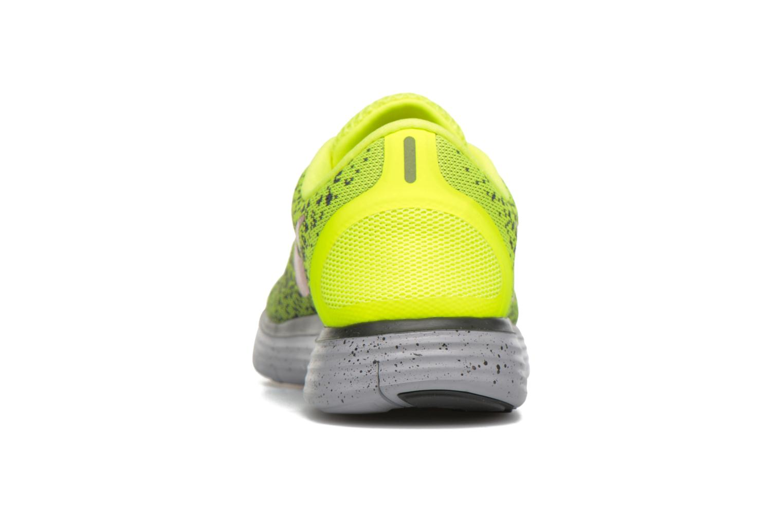Chaussures de sport Nike Nike Free Rn Distance Shield Jaune vue droite