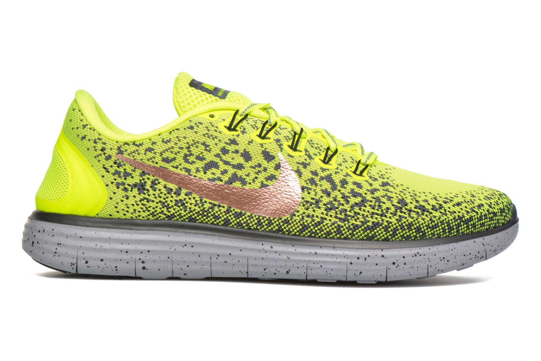 Chaussures de sport Nike Nike Free Rn Distance Shield Jaune vue derrière