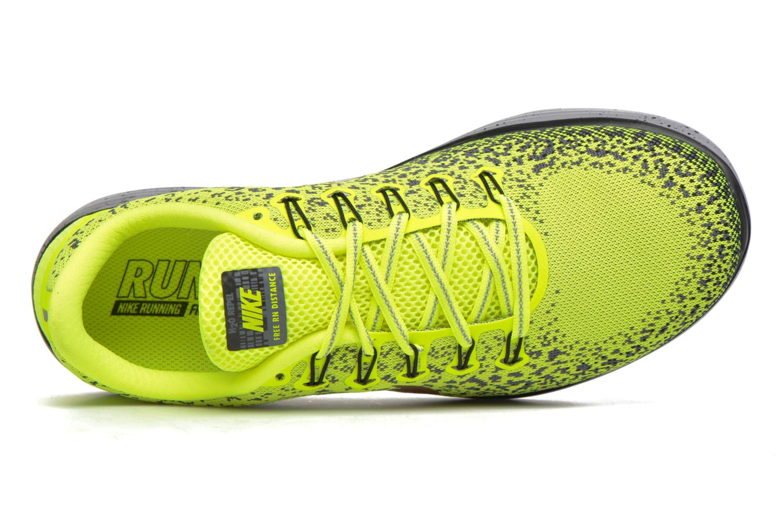 Chaussures de sport Nike Nike Free Rn Distance Shield Jaune vue gauche