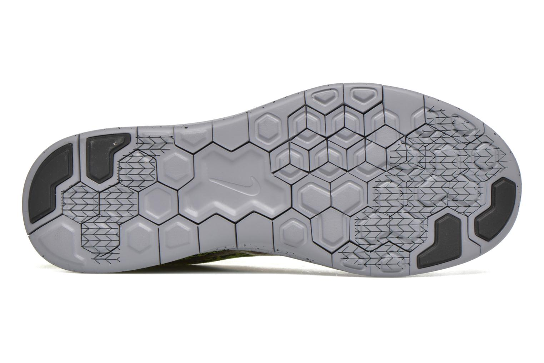 Chaussures de sport Nike Nike Free Rn Distance Shield Jaune vue haut