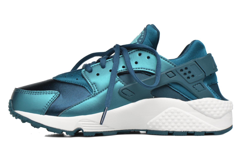 Baskets Nike W Air Huarache Run Se Bleu vue face