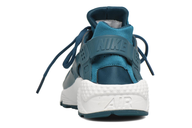 Deportivas Nike W Air Huarache Run Se Azul vista lateral derecha