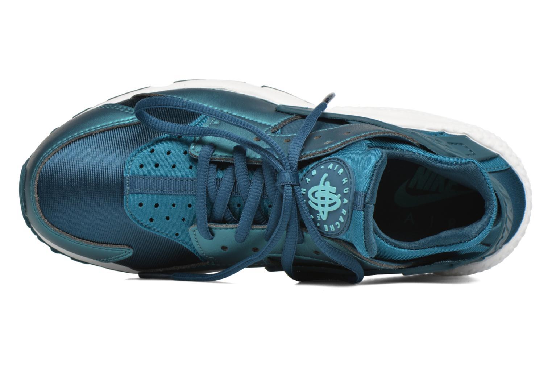Deportivas Nike W Air Huarache Run Se Azul vista lateral izquierda