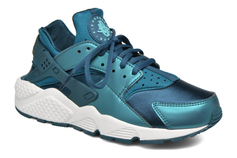 Baskets Nike W Air Huarache Run Se Bleu vue détail/paire