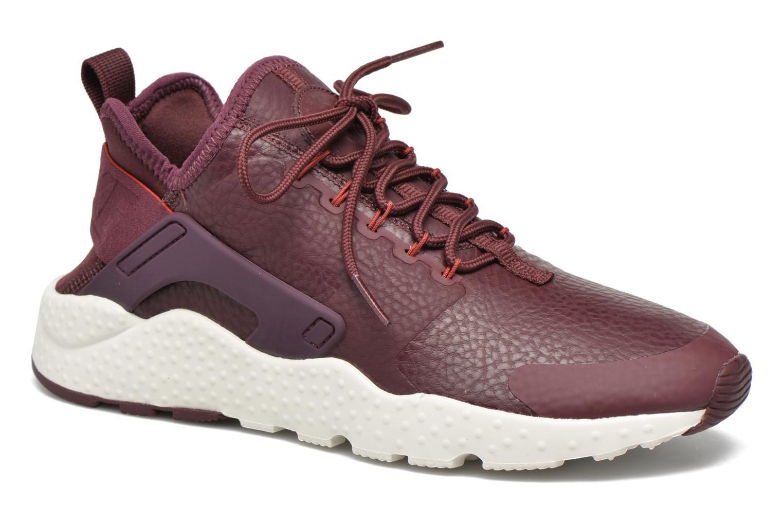 Baskets Nike W Air Huarache Run Ultra Prm Bordeaux vue détail/paire
