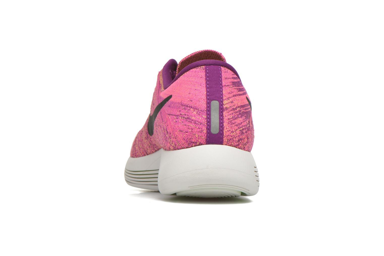 Sportschuhe Nike W Nike Lunarepic Low Flyknit lila ansicht von rechts