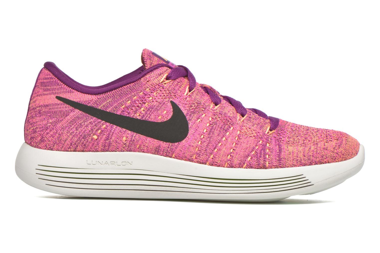 Chaussures de sport Nike W Nike Lunarepic Low Flyknit Violet vue derrière